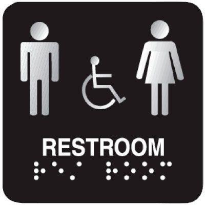 placas de sinalização em braille